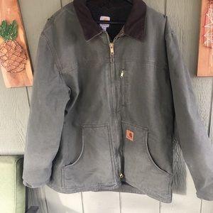 Carhartt Men's XL Sherpa Lined Work Barn Coat